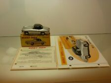 DINKY TOYS ATLAS 526 MERCEDES 190 SL CABRIOLET - SILVER 1:43 - EXCELLENT IN BOX
