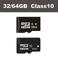 32/64GB Class10 Mirco Memory Cards For HD Viofo Dash Cam Motorcycle DVR IP Cam