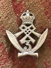 Original, 3rd Gurkha Rifles Cap Badge