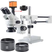 3.5-90X Stereoscopic Microscope 16MP Full HD 1080P 60FPS HDMI Digital Microscope