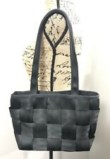HARVEYS Original Seat Belt Purse Black Shoulder Handbag Smaller