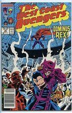 Avengers West Coast 1985 series # 24 fine comic book