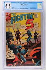 Fightin' Five #40 - Charlton 1966 CGC 6.5 Origin & 1st App of Peacemaker!