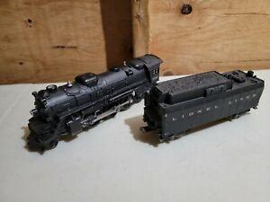 LIONEL 2037 Steam Locomotive 2-6-4 and Whistling Tender 1954-63