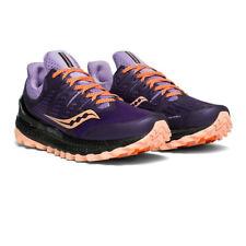 Saucony Mujer Xodus ISO 3 Sendero Correr Zapatos Zapatillas - Azul Naranja