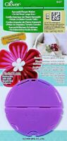 CLOVER Kanzashi Flower Maker 3in / 75mm LARGE round Orchid Petals