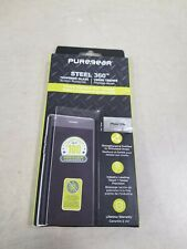 PureGear Steel 360 Tempered Glass Screen Protector for iPhone 11/XR