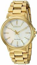 Citizen FE7032-51D Women's 'eco-drive Cuarzo Acero Inoxidable Casual reloj de oro