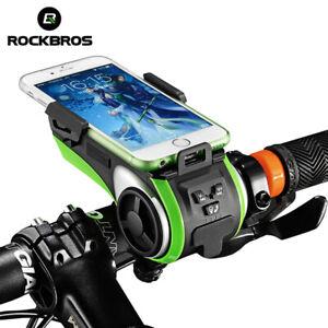 ROCKBROS Bike Bracket Audio Bike Light 3-in-1 Waterproof 4000mAh Power Bank USB