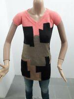 Maglia Lunga LIU JO Donna T-shirt Woman Vestitino Femme Taglia Size XS P 8182