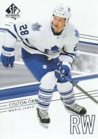 2014-15 SP Authentic Hockey #83 Colton Orr Toronto Maple Leafs