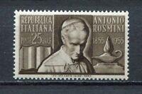 S6748) Italy Rep.1955 MNH Rosmini 1v