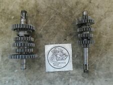1979 YAMAHA MX175 TRANSMISSION GEARS ( PARTS ONLY )