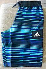 Adidas Vara Stripe Swim Trunks Boys' (8-20), Size M