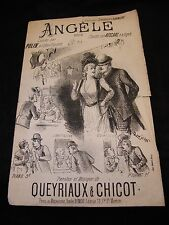 Partition Angèle Queyriaux & Chicot Music Sheet