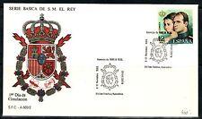 TEMA REY J.CARLOS I.  ESPAÑA. 1989. SOBRE SERIE BASICA .HOMENAJE FAMILIA REAL