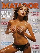 MATADOR Januar/01/2005  Miss MATADOR - SABINE BAUER