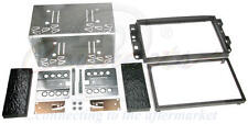 Chevrolet Aveo 06-11 Black Double Din Car Stereo Fitting Kit Facia