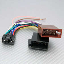 KENWOOD 16-PIN ISO LEAD POWER WIRING HARNESS CABLE 2