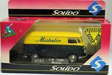 SOLIDO VOLKSWAGEN TRANSPORTER MICHELIN ESCALA 1:43 DE SOLIDO without LOGO