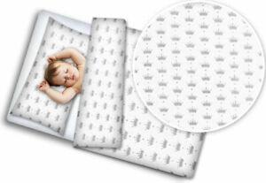 2PC BABY BEDDING SET COTTON 120x90 PILLOWCASE DUVET COVER FIT COT Royal