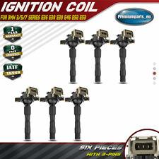 6x Ignition Coil for BMW 3 5 7 Series E36 Z3 E38 E39 E46 E52 Z8 E53 X5 1994-2006