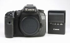 Canon EOS 7D DSLR Camera Body Only + Generic Battery &  Canon EU Charger  -
