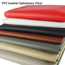 Faux Leather Upholstery Marine Vinyl Fabric Auto/Boat/Home Seats Replace By Yard
