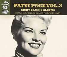 PATTI PAGE - 8 CLASSIC ALBUMS, VOL. 3 NEW CD