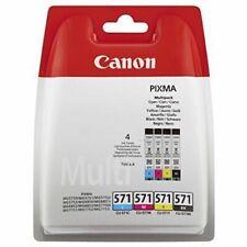Canon CLI-571 BK/C/M/Y Tintenpatronen Multipack