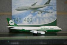 Dragon Wings 1:400 EVA Air Boeing 747-400 B-16463 Die-Cast Model Plane