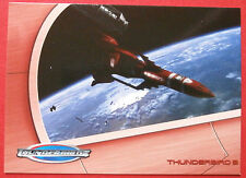 THUNDERBIRDS (The 2004 Movie) - Card#20 - Thunderbird 3 - Cards Inc 2004