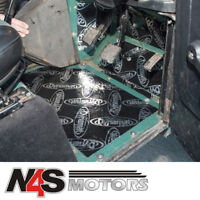 DEFENDER 90/110/130 83-06 SOUND DEADENING FOOTWELL KIT DYNAMAT PRE-CUT. DA8094