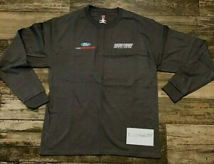 Roush Fenway Racing FORD Performance Team Issued NASCAR Pullover-Shirt Sz Large