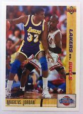 Michael Jordan Magic Johnson #34 Upper Deck 1991/92 NBA Basketball Card
