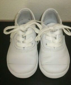 Toddler Girl Keds Champ Toe Caps Sneakers Shoes White Size 5 M