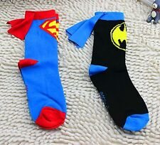 2xBoy Girl Kid Superman batman Costume cosplay Football Soccer Party Cape Socks