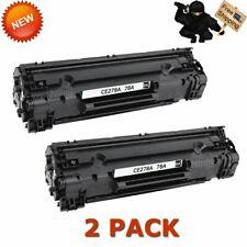 2PK 78A CE278A Toner Cartridge Compatible for HP LaserJet Pro P1606dn M1536dnf