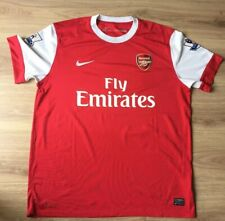 Arsenal Foo Shirt Nike Home Kit 2010- 2011. Excellent Condition. Adults  XL