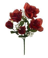 60 Roses Artificial Centerpieces Bridal Bouquets Silk Wedding Flowers Faux Craft
