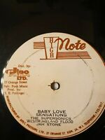 "The Sensations - Baby Love 12"" Vinyl Single"