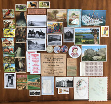 Huge Lot Of Over 46 Various Vintage Collector Items And Other Ephemera!