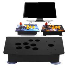Diy Arcade Joystick Kits Acrylic Multiple Artwork Panel Flat Case Box