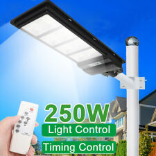 9900000Lm Commercial Solar Street Light 576 Led Outdoor Security Road Lamp+Pole