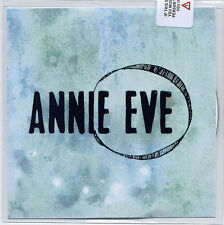 ANNIE EVE Sunday '91 2014 UK numbered 10-track promo test CD SEALED