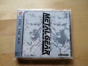 Metal Gear Solid Original Soundtrack CD Japan 1998