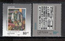 Litauen 1993 und 1994 EUROPA postfrisch