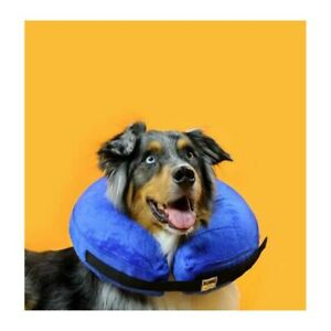 Inflatable Puppy Dog Cat Pet Collar Post Surgery Lampshade Cone Neck Injury Hot