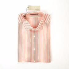 Camisa de vestir de vestir de hombre rojos de 100% algodón