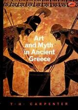 ART AND MYTH IN ANCIENT GREECE A HANDBOOK T. H. CARPENTER 1991 THAMES AND HUDSON